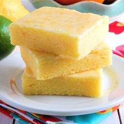 Best Ever Lemon Brownie Bars or Lemon Brownies