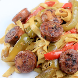 Best Ever Sweet Sausage and Peppers · Erica's Recipes