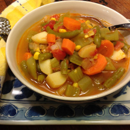 best vegetable soup recipes | BigOven