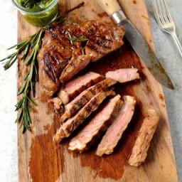 Best Marinated Rib-eye Steak