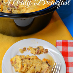 Best Slow Cooker Meaty Breakfast