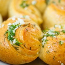BEST soft herb rolls for busy cooks!