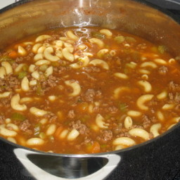 Bestest Hamburger Soup