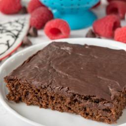 Better Chocolate Sheet Cake Recipe