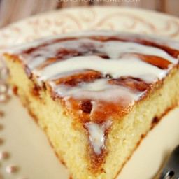 Better Cinnamon Roll Cake