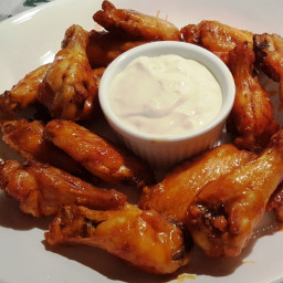 Better than Hot Wings Café, Buffalo Chicken Wings, cooked in an Air Fryer.