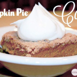 Better Than Pumpkin Pie -- Cake!