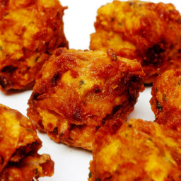 Bhajias - Fried Indian Snack Recipe