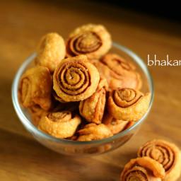 bhakarwadi recipe   how to make maharashtrian bhakarwadi recipe