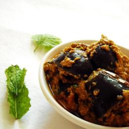bharli vangi recipe – stuffed brinjals