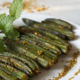 bharwan bhindi recipe – stuffed okra recipe
