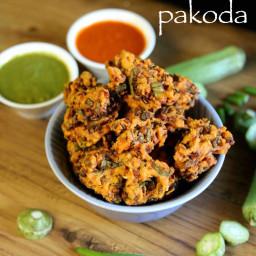 bhindi pakora recipe