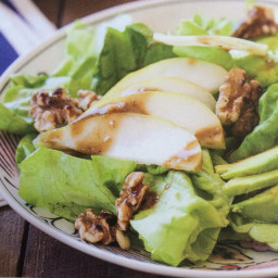 Bibb Lettuce with D'anjou Pears, Shaved Fennel, Avocado and Toasted Walnuts