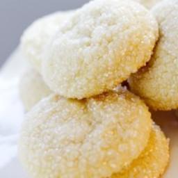 Big, Fat, Soft Almond Sugar Cookies