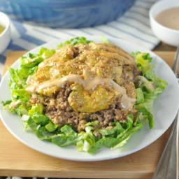 Big Mac Casserole - Low Carb, Gluten Free
