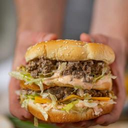 Big Mac Sloppy Joes (w/ Secret Sauce!)