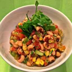 Zesty Black-Eyed Pea Salad