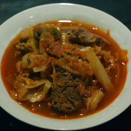 Bigos (Polish hunters' stew)