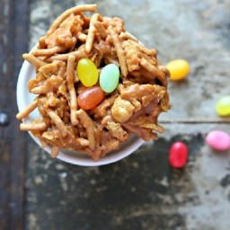 Birds Nest NO BAKE Easter Cookies