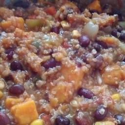 Birthday Chili (vegetarian)