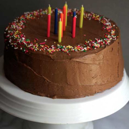 Birthday Chocolate Cake and a Cookbook!