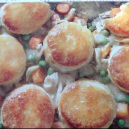 Biscuit -Topped Chicken Potpie