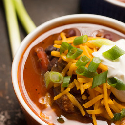 Bison Chili {Healthy New Year Challenge - Week 3}