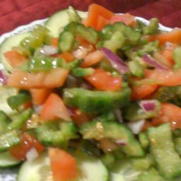 Bitter Gourd Salad (Ensaladang Ampalaya)