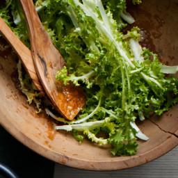 Bitter Greens with Mustard Vinaigrette