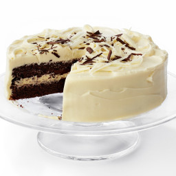 Black-and-White Layer Cake