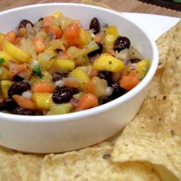 Black Bean and Fruit Salsa