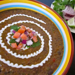Black Bean and Roasted Salsa Soup