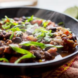 Black Bean-Chorizo Stew