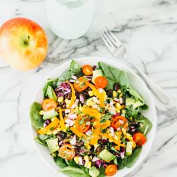 Black Bean Fiesta Jar Salad