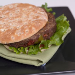 Black Bean-Oatmeal Burgers