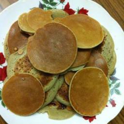 Black Bean Oatmeal Pancake