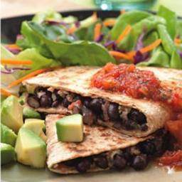 Black Bean Quesadillas
