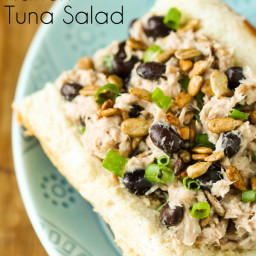 Black Bean Ranch Tuna Salad