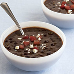 Black Bean Soup with Sherry
