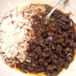Black Beans Cuban Style