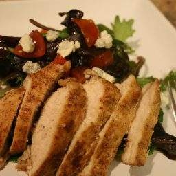 Black & Blue Chicken Salad