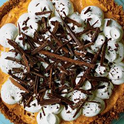 Black Bottom Pumpkin Pie