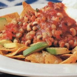 Black Eye Pea Nachos