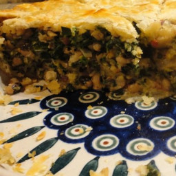 Black-Eyed Pea Pie