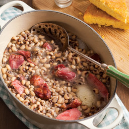 Black Eyed Peas and Ham