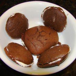 Black Moon Cookies or Whoopie Pies