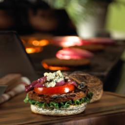 Black 'N Blue Morningstar Farms(r) Burger Recipe