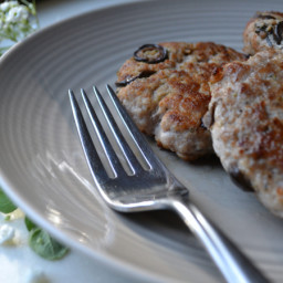 Black Olive and Oregano Breakfast Sausage