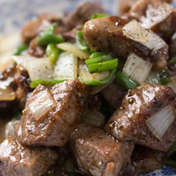 Black Pepper Beef