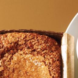 Black Sesame and #8211;Pear Tea Cake